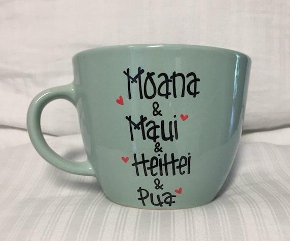 Moana and Friends mug