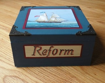 The sailing ship Reform