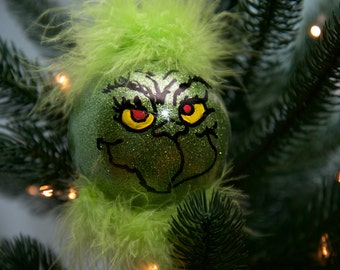 The Grinch inspired ornament