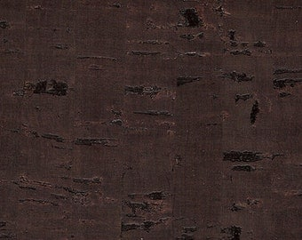 Cork fabric brown 70 x 50 cm
