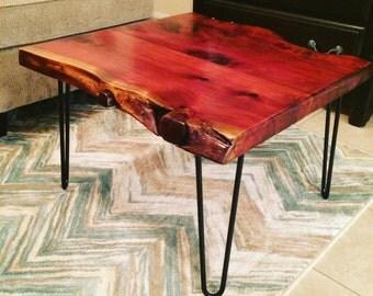 Wonderful Western Red Cedar Coffee Table