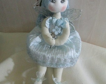 Doll fairy blue