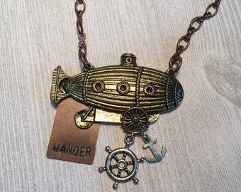 Handmade Zeppelin Wander Necklace