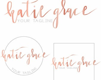 Rose Gold Branding Package