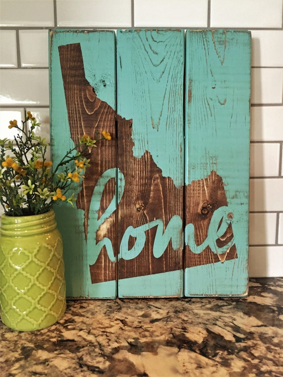 Reclaimed Wood Wall Art Home Decor Pallet Signs