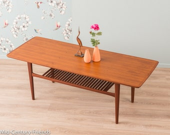 60s coffee table, 50s, Denmark, vintage (604015)