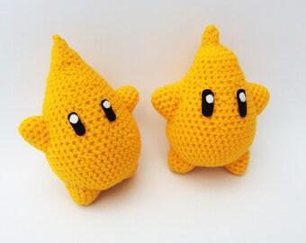 Knitted Amigurumi Nintendo Super Mario Luma Magic Star