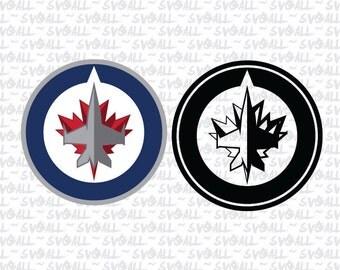 Winnipeg Jets Svg Files, Winnipeg Jets Png, Winnipeg Jets PDF, Winnipeg Jets EPS, Winnipeg Jets DXF Instant Download
