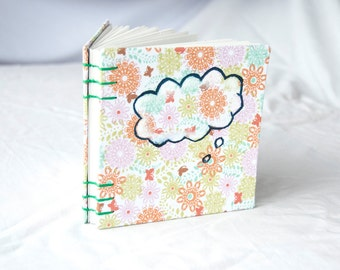CLEARANCE Word Bubble Blank Journal