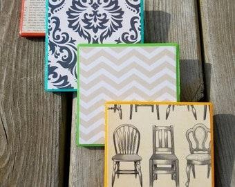Color Pop Coaster Tiles