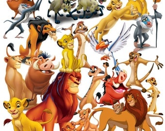 Lion King and Lion Guard clipart