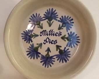 Vintage Louisville Stoneware Pie Plate