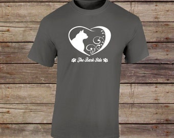Cat Heart T-shirt/Cat Shirt/Cat Mom/Cat Dad/Pet Lover Gift/Cat Lover Gift/Cat Owner Gift/Fur Mom/Fur Dad/Cat themed shirt