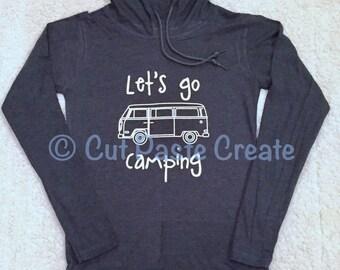 Let's Go Camping Shirt Camper Van