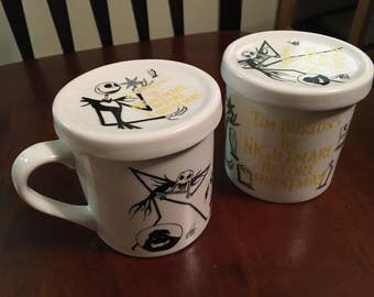 The Nightmare Before Christmas mug set!