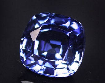 4.56 ctw. blue sapphire loose gemstone.
