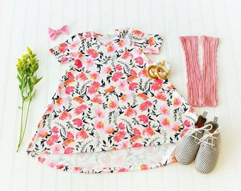 Floral Hi Low Dress Baby/Toddler