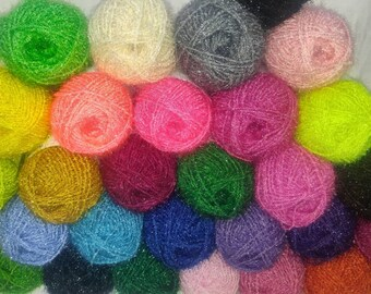 crochet / yarn/ yarns/ susemi yarn / sanitary yarn / korean yarn / glitter yarn / dish scrubber / 30colors