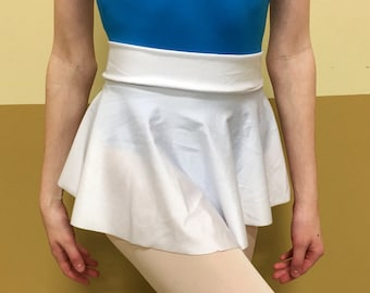 Pure White Ballet Skirt