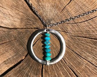 Zen Turquoise Circle