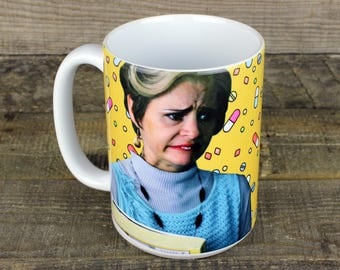 Jerri Blank MUG Stranger With Candy boozer user loser Amy Sedaris Comedy Central principal blackman Flatpoint High gifts for her Mothers Day