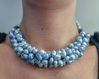 Handmade Pearls Necklace