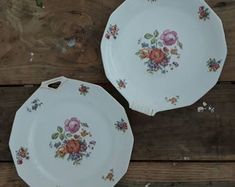 Set of two vintage serving dishes
