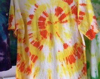 Tie dye t shirt medium