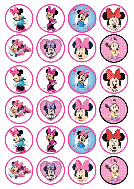Minnie Mouse Cake Decorations Uk