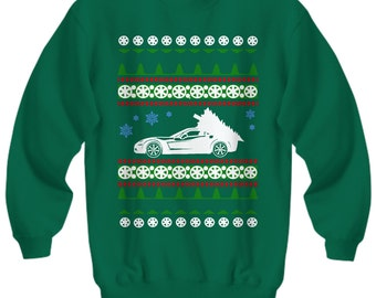 Corvette C6 Ugly Christmas Sweater Sweatshirt Chevrolet