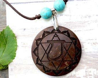 Heart Chakra Pendant Necklace