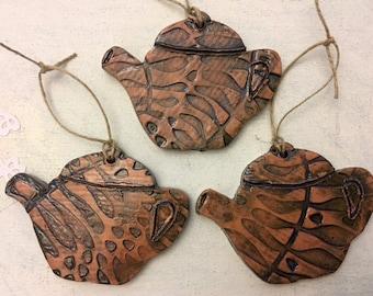 Teapot Ceramic Ornaments