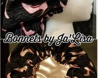 Satin Lined Hair Bonnets