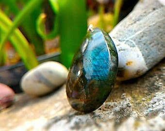 Labradorite is an excellent stone for PROTECTION.