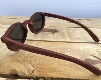 Elizabeth - Wooden Sunglasses - (Polarised)