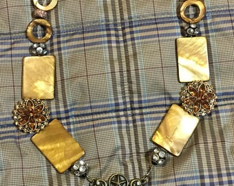 Boot and Horseshoe Necklace