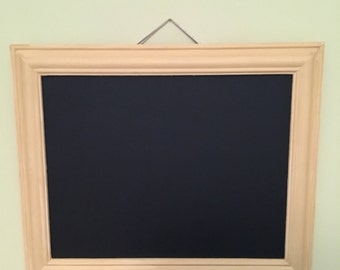 Handmade Mustard Chalkboard Frame