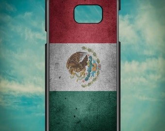 Grunge Mexican Flag for Samsung Galaxy Note 3, Samsung Galaxy Note 4, Samsung Galaxy Note 5, Electronic Phone Case