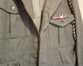 British Army Battledress - circa 1940's - Gret for Re-enactment or Fancy Dress.