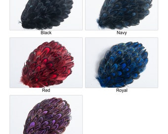 Ringneck Plumage Almond Pads Millinery Adornment   T010446