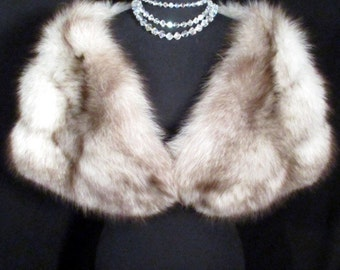 Fox fur cape/stole - perfect for winter wedding