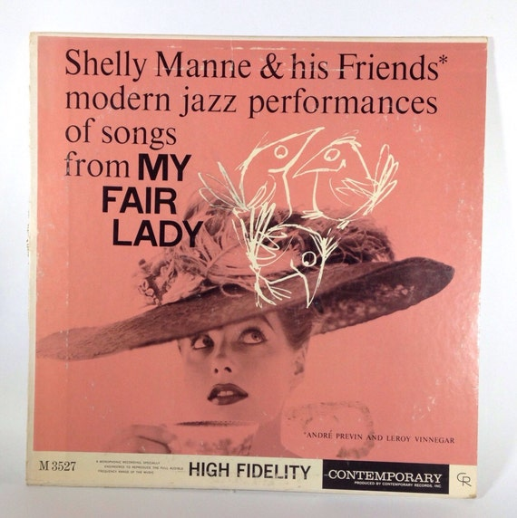 Shelly Manne & His Friends  - My Fair Lady M 3527 Vinyl Album
