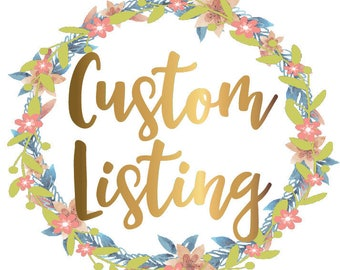 Listing for CUSTOM TATTOO DESIGN (with proofs)
