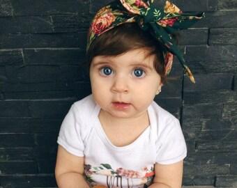 Floral Baby Headwrap - Boho Baby