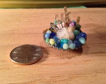 Crystal shell aquatic