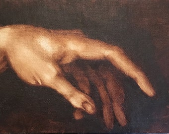 David's hand