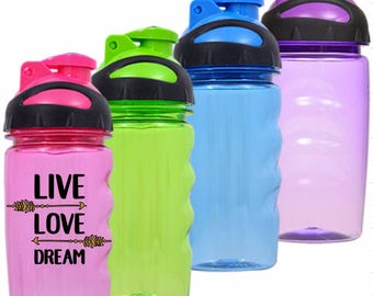 Live Love Dream - Kids Water Bottle