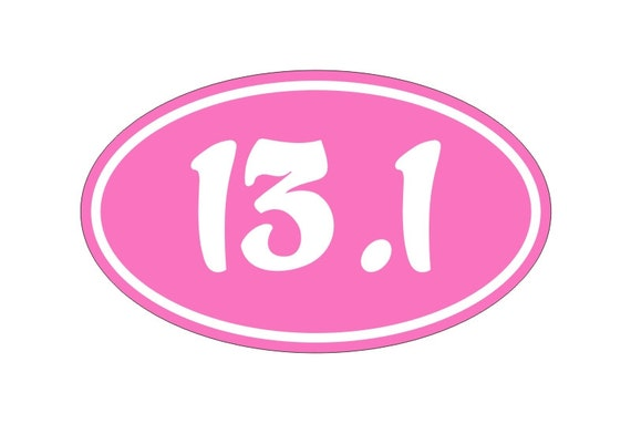 13 1 oval vinyl bumper sticker car window decal suv euro for 13 1 window sticker