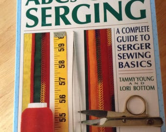 ABC's of Serging Softback Book