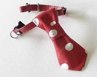 Tie Red and White